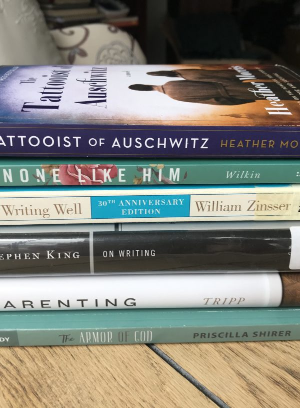 My January Book Stack