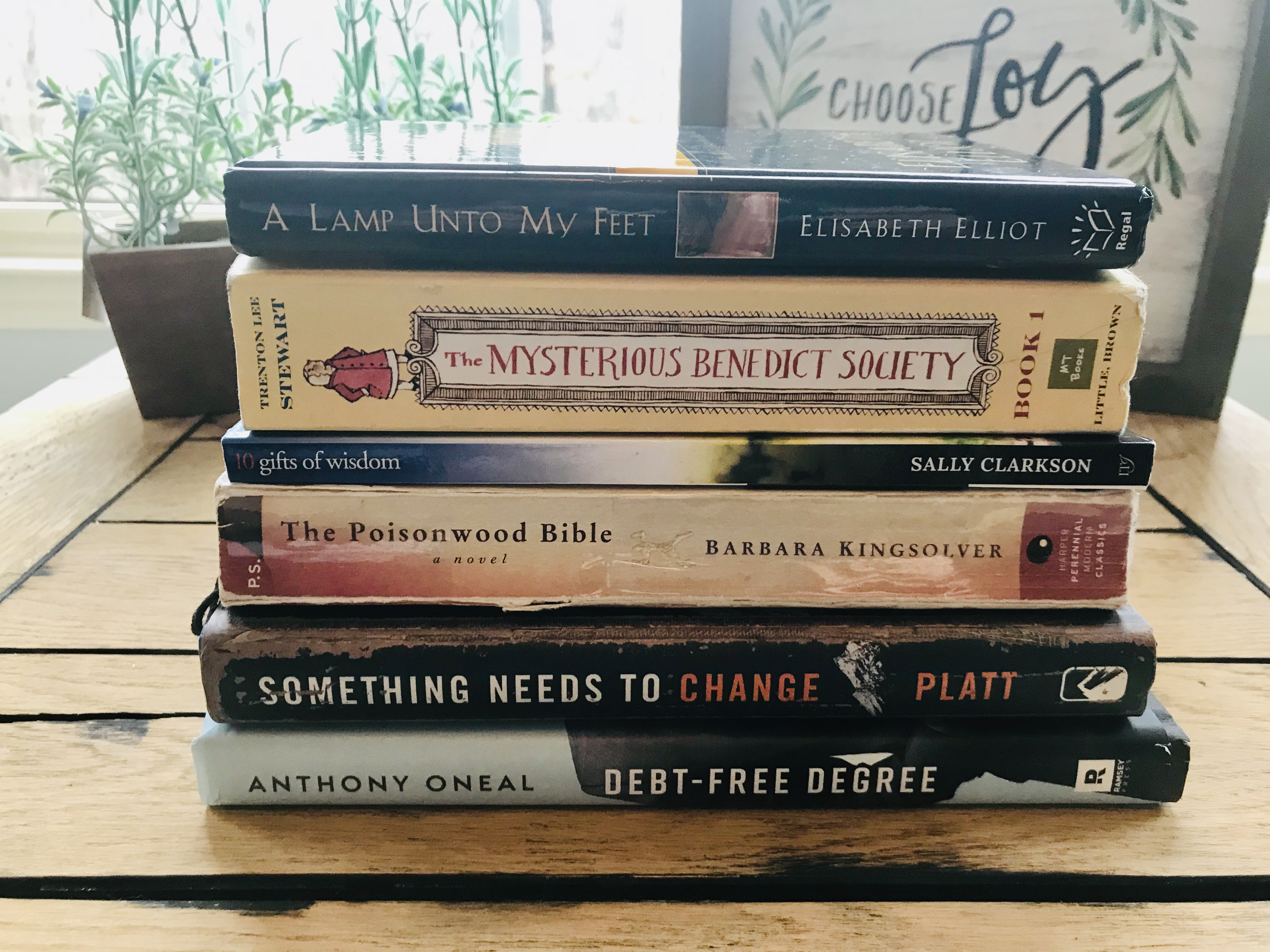 My February Book Stack