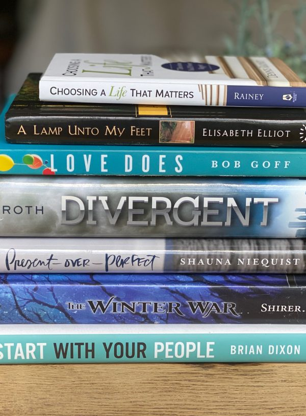 My July Book Stack
